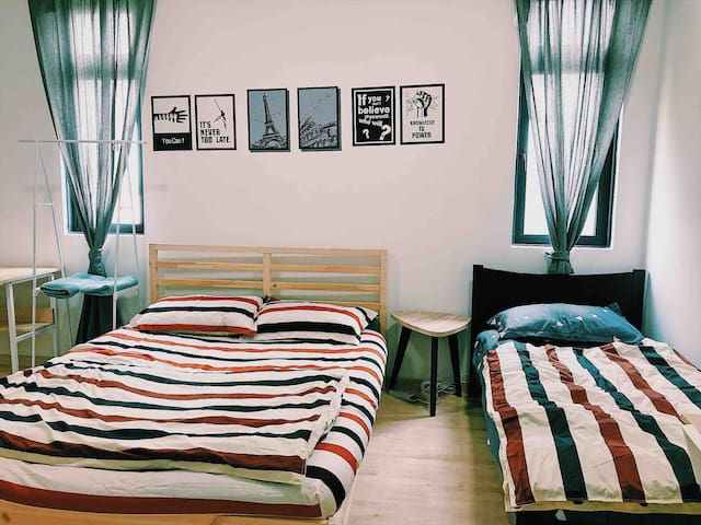 Upgraded quality of bed sheet and comforter