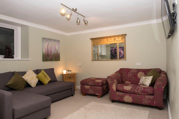 Basement apartment in Merthyr Tydfil town centre