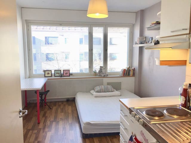 Cozy and Lovely Studio in the Heart of Helsinki