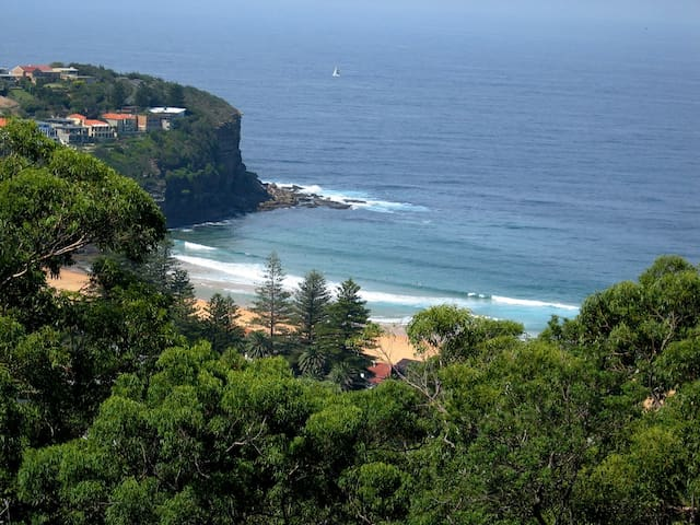Avalon Horizons Apt w/ pool & views - Bilgola - Appartement
