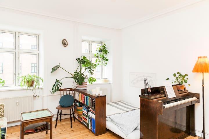 Charming small flat in Nørrebro - Kopenhagen - Appartement