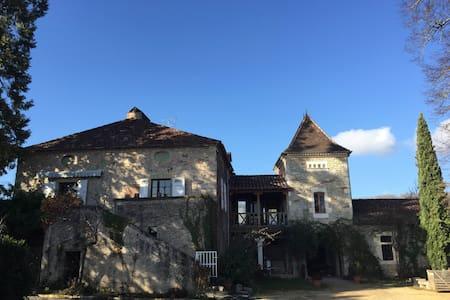 Maison typique du lot avec piscine - cahors - Дом