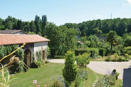 Spacieuse maison de campagne avec sa belle piscine - Saint-Vincent-de-Connezac - Villa