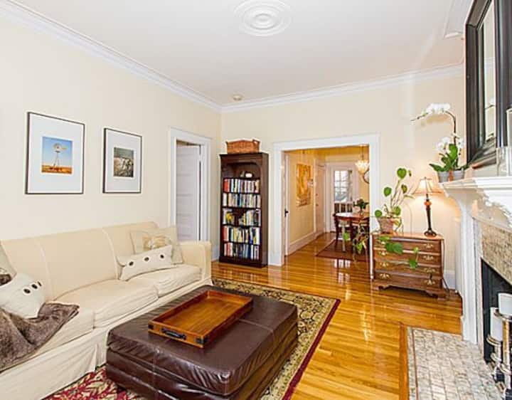 Brookline Apartment steps from Charming Boston