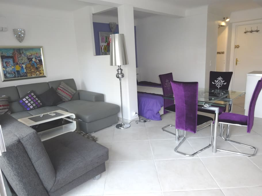 Furnished to high standards large lounge