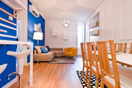 Santa Ana Classy I, 6 pax, 80 m2, 2 dormitorios - Madrid
