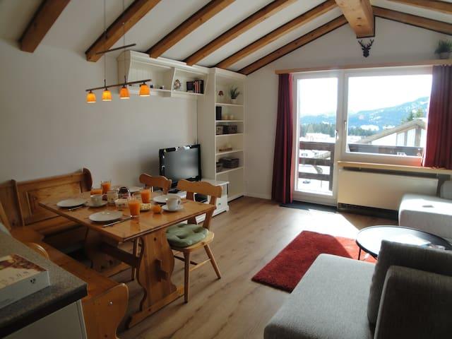 Charming renovated ski chalet - Vaz/Obervaz - Appartamento
