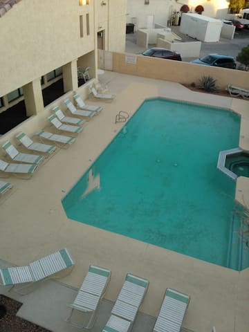 pool and spa,