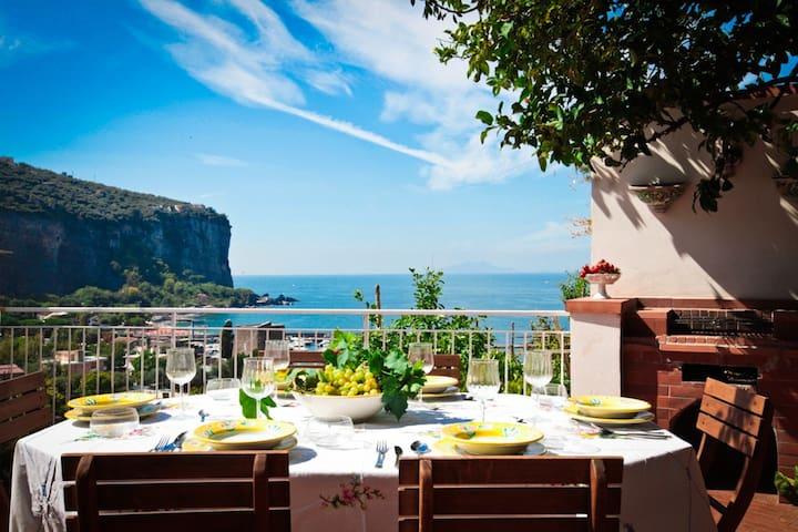 Villa Sorrento Coast - Vico Equense sea front - Vico Equense - Dom