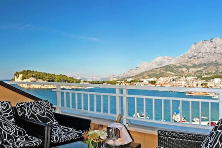 Hotelapartment mit Meerblick,Balkon - Makarska
