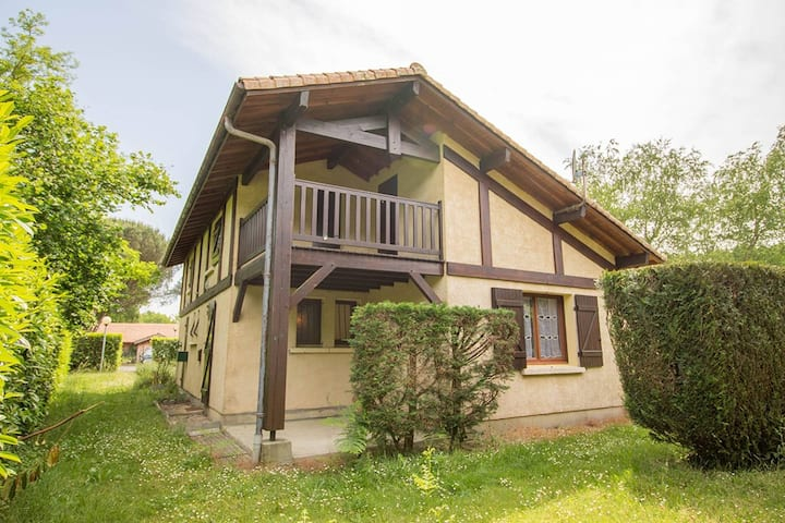 Apartment 1 bedroom and mezzanine 1 km from the lake