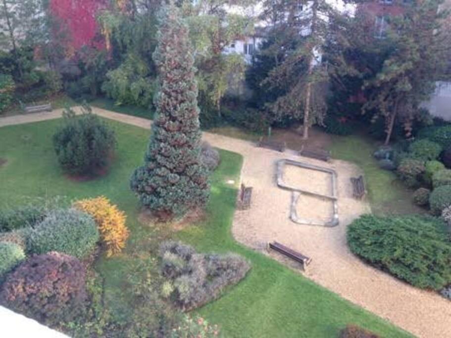 Jardin immeuble