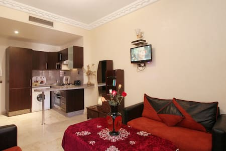 Central Apart. A.C.& Transfer &Wifi - Marrakech - Apartment