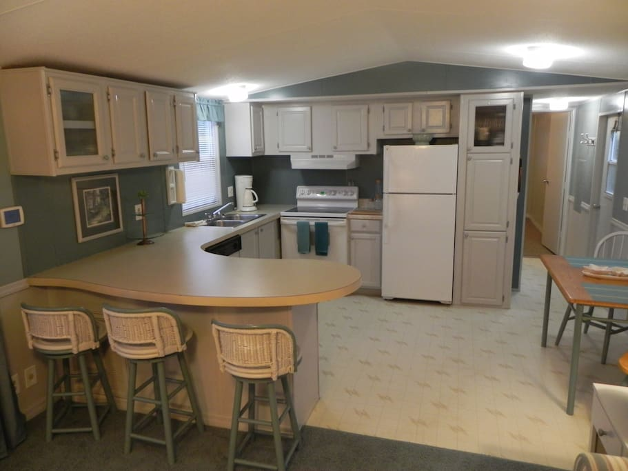 view of the kitchen-amenities include all you will need