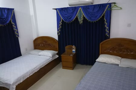 Khulna main city double and single bed available