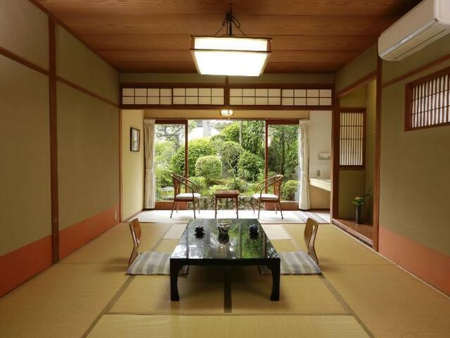 【Meijiso】Misasa Onsen 三朝温泉 もみの木の宿 明治荘