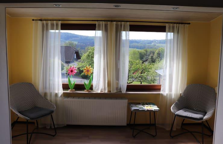 Ferienhaus zur schönen Aussicht, (Hardt), Ferienhaus, 70 qm, 2 Schlafzimmer, max. 3 Personen