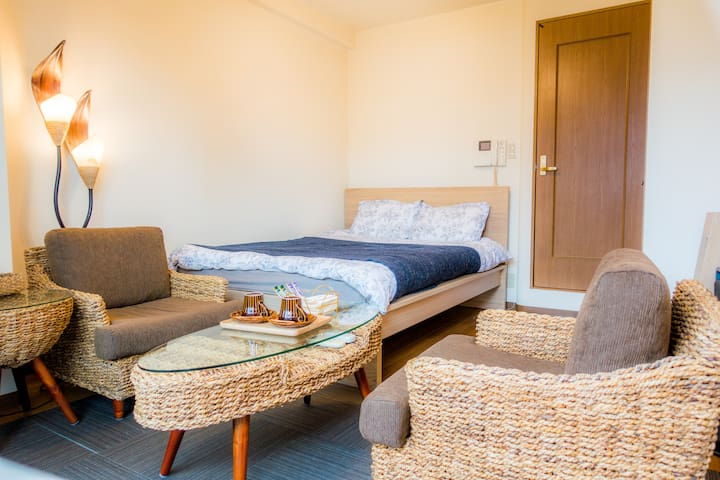 (P1) Cosy room!6min from Kyoto sta.