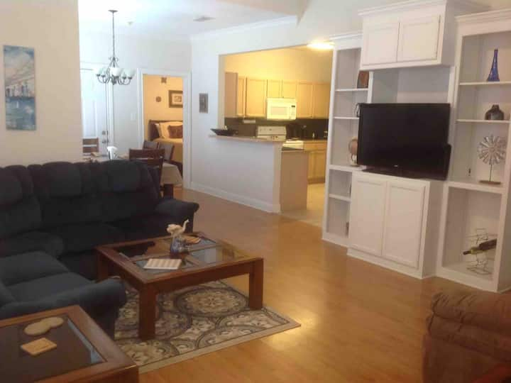 Walk to Tiger Stadium from Beautiful 3B/2B Condo