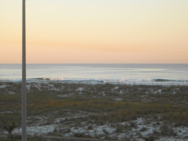 Beach view from front deck