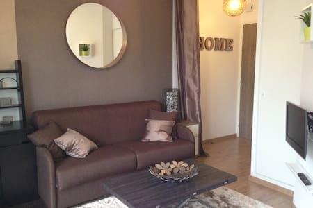 Studio neuf et cosy, proche de Caen - Fleury-sur-Orne
