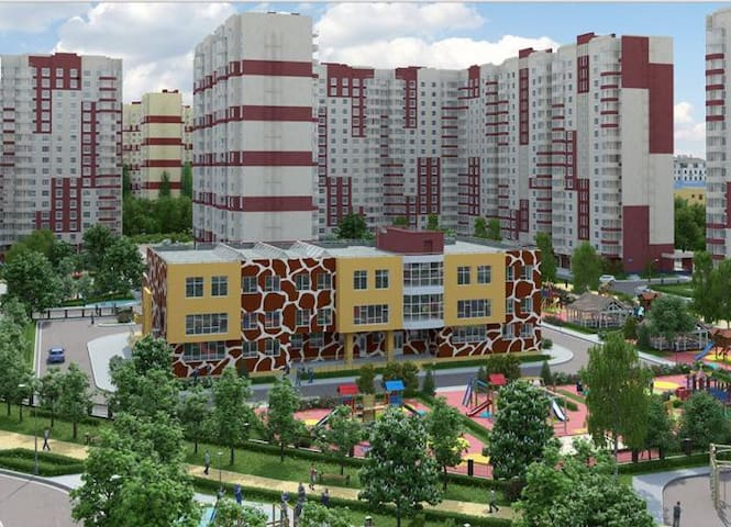 Двухкомнатная квартира в новом доме - Moscow - Flat
