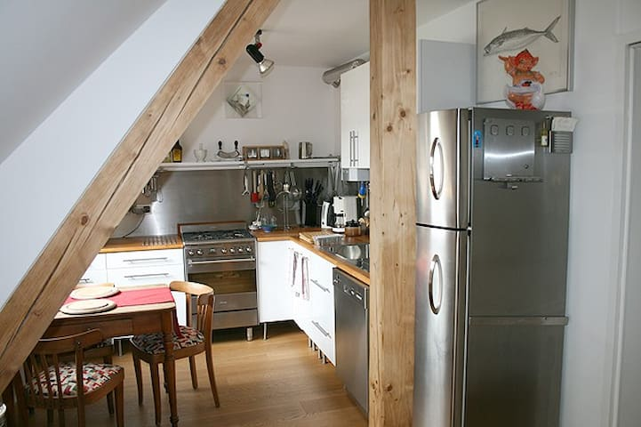 Cosy flat under the roof