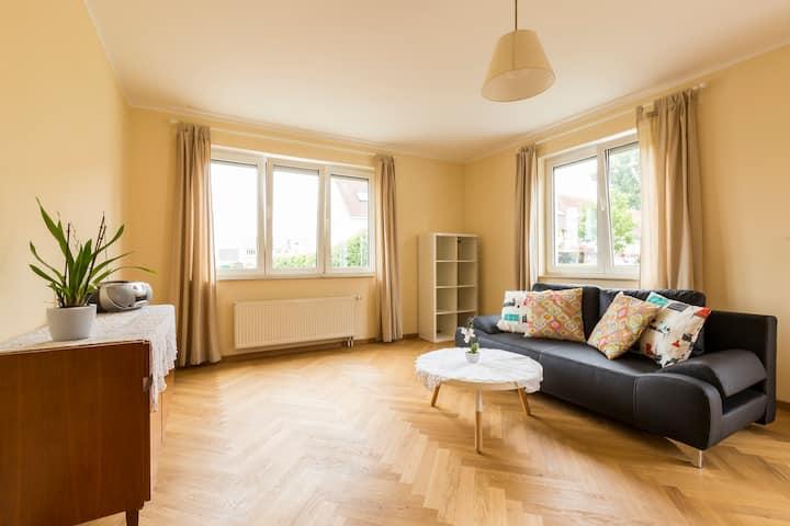 countryside garden apartment