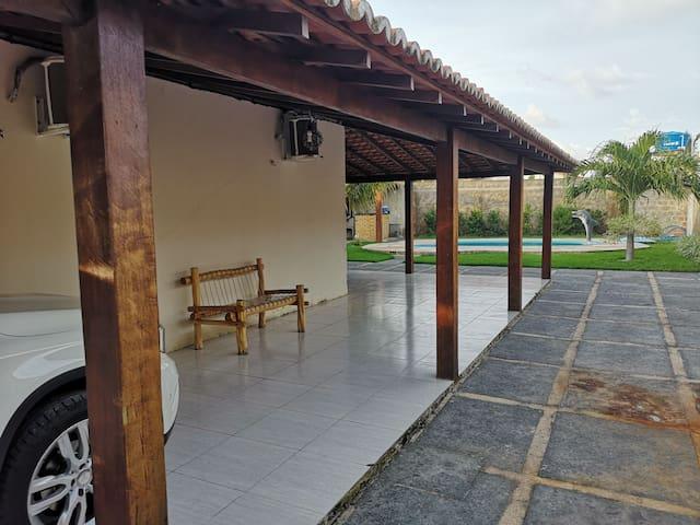 Casa Praia Peito de moça com piscina