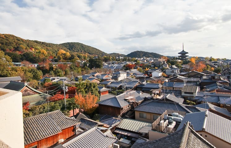 Best Location & View in Gion, Kyoto - Higashiyama Ward, Kyoto - Lägenhet