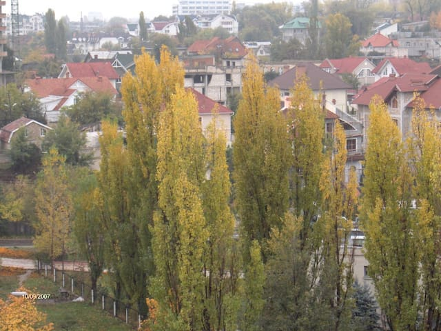 NICE VIEW from the TOP FLOOR! - Chisináu - Bed & Breakfast