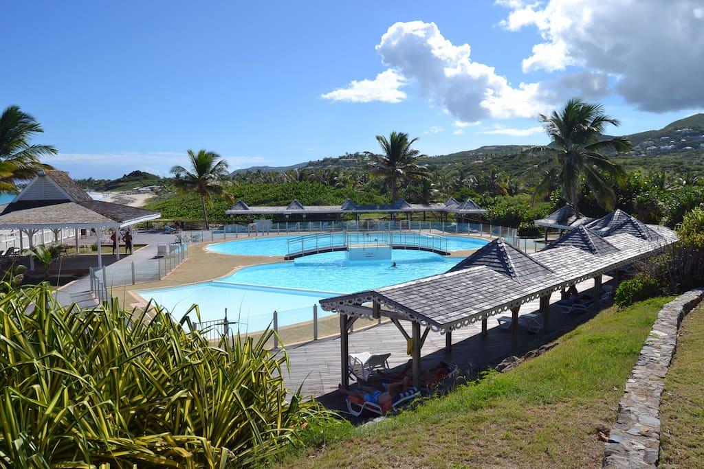 Vacances plage et piscine appartements louer cul de for O piscines de martin saintes