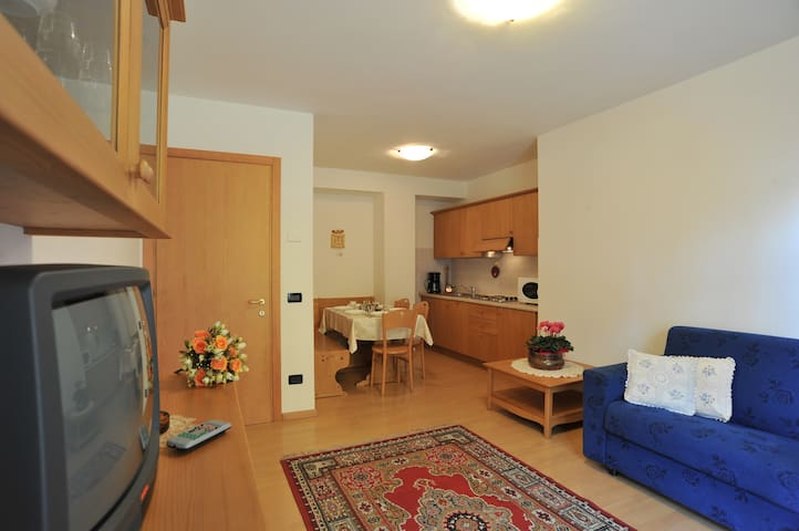 apartments in dolomite unesco