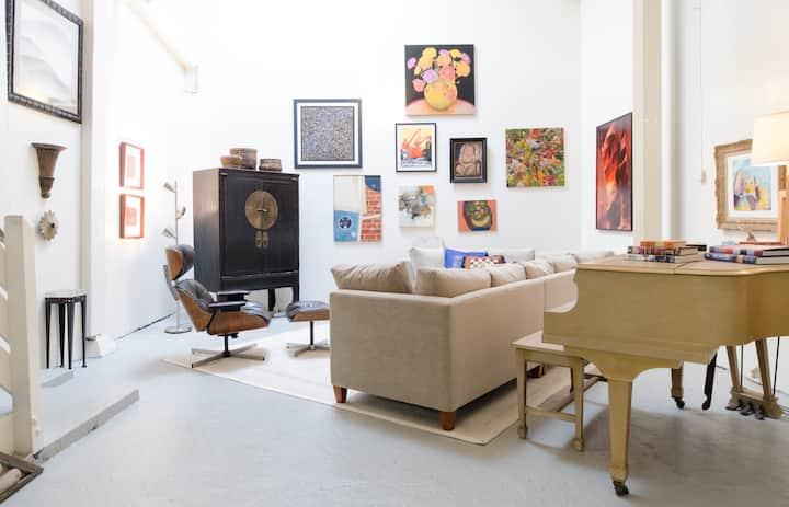 Designer Live/Work Artist Loft