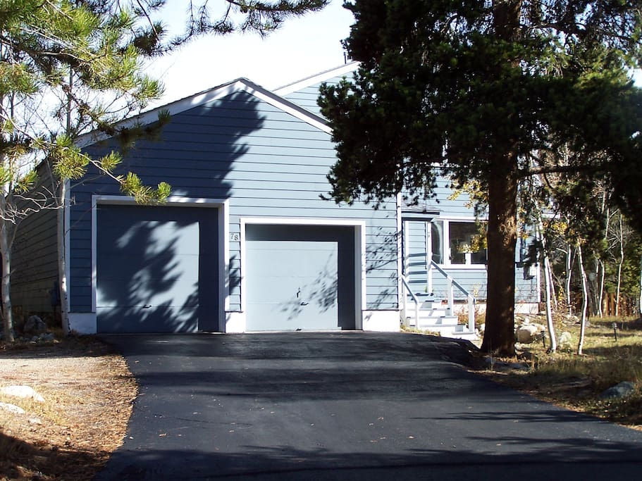 Attached double garage provides easy access to the Mud Room.