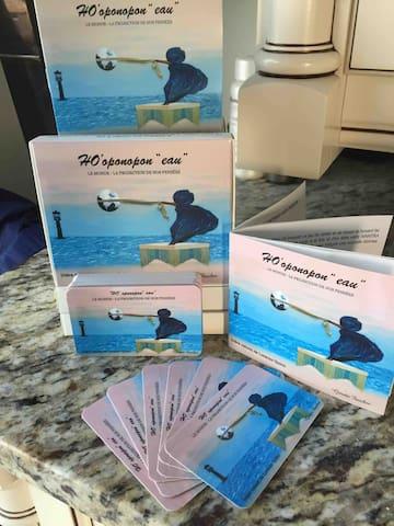 Une copie du jeu vous est remis gratuitement à chaque réservation.... À chaque vente la moitié est versé auprès de la recherche sur l'état d'Alzheimer... Fondatrice du projet... Merci !!!