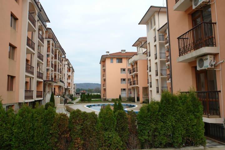 Апартаменты Приморско Болгария - Primorsko - Betjent leilighet