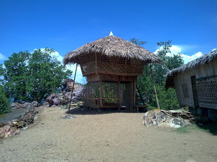 Native Nipa house by the sea!