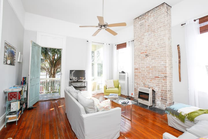 Private & Airy Marigny / Bywater gem w/balcony! - New Orleans - Byt