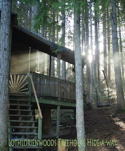 Tree House Tranquil-a-Tree at Lothlorien Woods