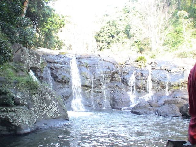 A stunning swimming hole located 15 min away