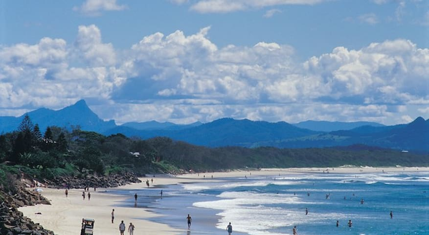Play with the dolphins, spot the whales or just play in the waves, Byron Bay ....