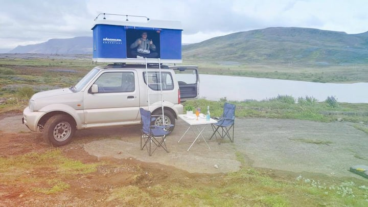 4x4 Camper - The Golden Sheep. All inclusive.