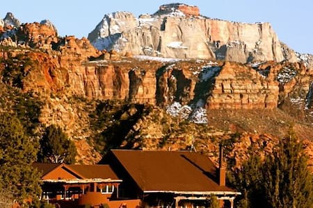 ZionVilla : Located inside & surrounded by Zion NP - Virgin