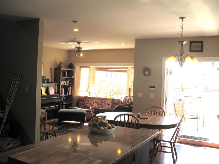 Kitchen - Living - Dining room