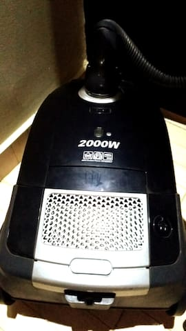 * Vacuum Cleaner 2000 Watt LG with more than five programs for curtains, carpets, mattresses and couch
