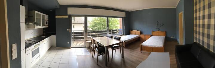 Zwei Doppelzimmer Appartment im Hotel Destille