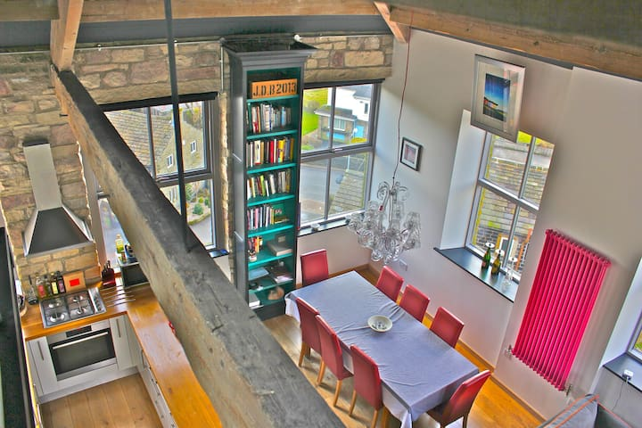 GREAT VIEWS. Grade II listed. - Hebden Bridge - Leilighet