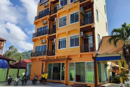 Hotel rooms 350 meters walk from Kata beach