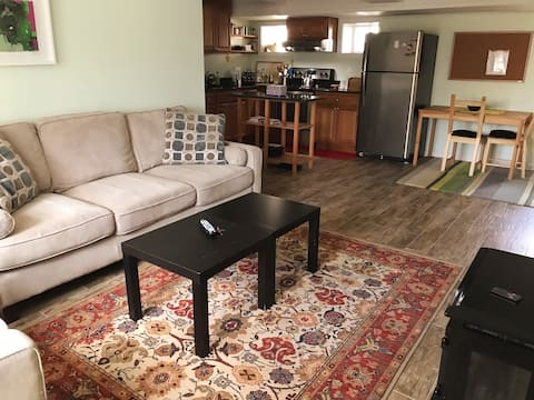 Cozy one-bedroom apartment minutes from DC!